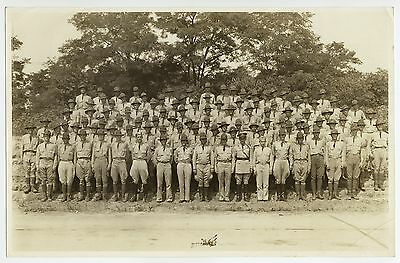 World War One Military Photo American Soldiers Group Shot