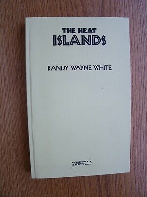Randy Wayne White The Heat Islands 1st ed Advance Reading Copy