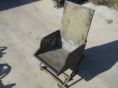 Armored Seat for Military Aircraft or Helicopter, UH1 UH-1? Huey, Old