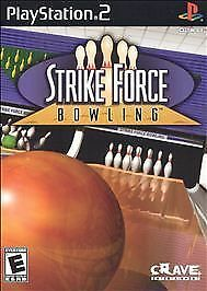 Strike Force Bowling Playstation 2 PS2 w/Manual GREAT