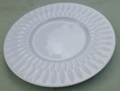 Block Spal White Azores Bread Plate & Saucer 1979