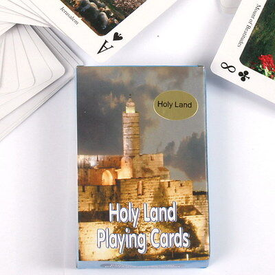 Holy Land Israel Playing Cards, Bible Biblical Christian Sites Jesus, Christmas
