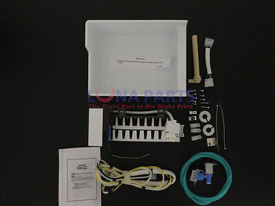 Genuine OEM IM34 Kenmore Refrigerator Icemaker, Complete Add on Kit