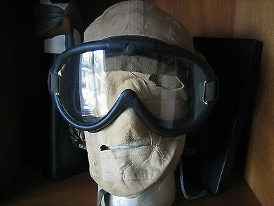 WWII army air forces FLIGHT HELMET -  GOGGLES &  FACE MASK    WW2  USAAC  USAAF