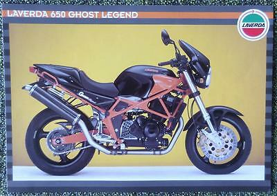 Laverda Ghost Legend Motorcycle Sales Brochure Circa 1996