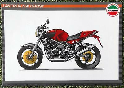 Laverda 650 Ghost Motorcycle Sales Brochure 1990's?
