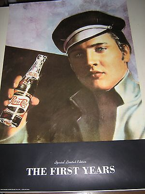 "Elvis Presley / Pepsi Poster..Limited edition / ""1994"" / 24X36"" Exc. New cond."