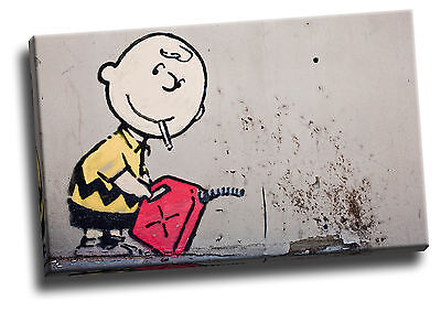 Banksy Apeman Giclee Canvas Picture Wall Art