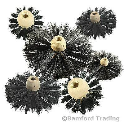 Chimney & Flue Sweeping Brushes for to fit Bailey Brothers Drain Rods Set Sweep