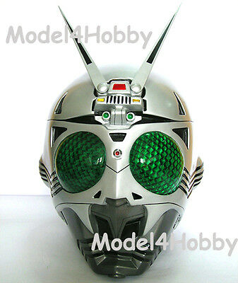 Cosplay! Kamen Rider SHADOWMOON (Fr. Rider BLACK) 1/1 Scale Helmet Action Hero!