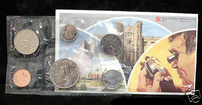 1982 Canada Proof Like Set - Uncirculated Coin Set - Voyageur Dollar