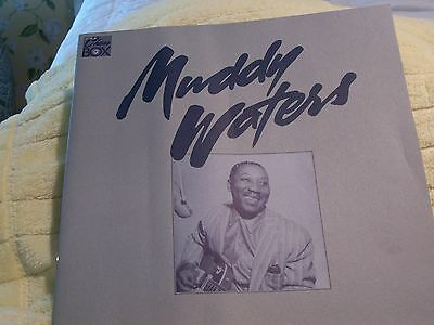 MUDDY WATERS Biography Booklet Probably Came w/ Album 1989 Photos/Text