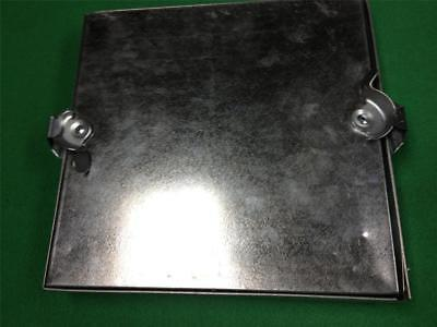 "Duct Cleaning Access Door Hvac 10"" X 10"" Metal Duct Access Panel Removable Latch"
