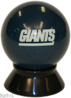 NFL New York GIANTS Pool Billiard Cue or Eight 8 Ball (Old Style Logo, Blue)