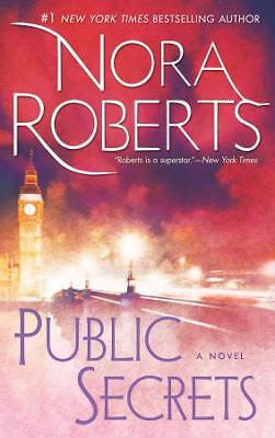 Public Secrets by Nora Roberts *PB*   GREAT!!