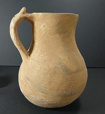 *Aphrodite Gallery* RARE TYPE ELABORATELY DECORATED LARGE ISLAMIC POTTERY JUG