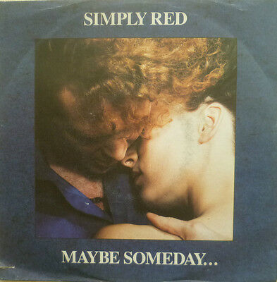 "7"" 1987 ! SIMPLY RED : Maybe Someday // MINT- \"
