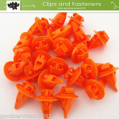 25 Pcs Odorless Fender Wheel Flare Moulding Clip Retainer Fasteners For Toyota