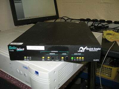 QUICK EAGLE DL087E Solo Select E1 DSU SNMP-manageable, intelligent access unit