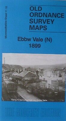 Old Ordnance Survey Map Ebbw Vale (N)  Monmouthshire 1899  Sheet 11.10  New
