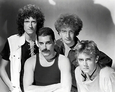 "The Band - Queen, 8""x10"" B&W Photo"
