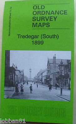 Old Ordnance Survey Map Tredegar South Monmouthshire 1899 Sheet 50.04 New