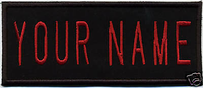 "CHILDS Custom  Iron On Embroidered Ghostbusters 2 Style  Name Patch: ""YOUR NAME"""