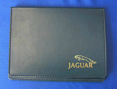 Jaguar Document Wallet Green With Gold Leaping Cat Logo Jjm991999Gd
