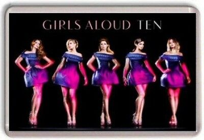 Girls Aloud Ten Tour Fridge Magnet