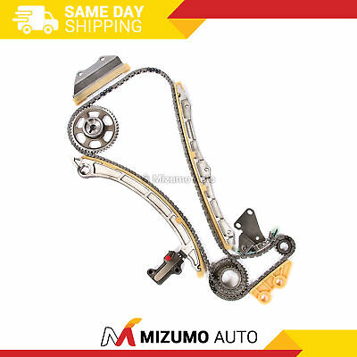 Fit 03-07 Honda Accord CRV Element 2.4 DOHC VTEC K24A1 K24A4 A8 Timing Chain Kit