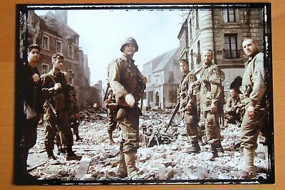 11X15 CM #1 MATT DAMON /& TOM HANKS PHOTO IL FAUT SAUVER LE SOLDAT RYAN