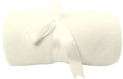 Soft Winter Warm Plush Baby Blanket with Satin Trim Binding Multicolor