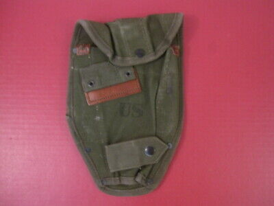 Vietnam Era US Army M1956 Entrenching Tool or Shovel Canvas Carrier Cover 1960's