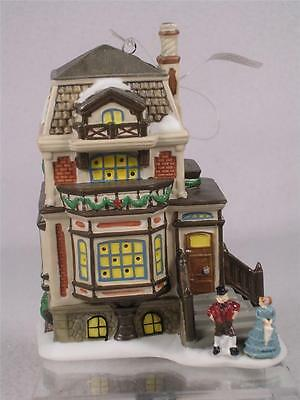Dept 56 Dickens 'Fred Holiwell's House, Mini' #4021328 Ornament or Shelf-NEW