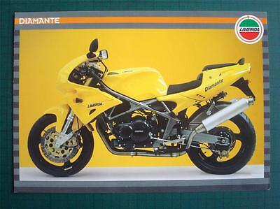 Laverda Diamante Motorcycle Sales Brochure C.1997 English French German Italian