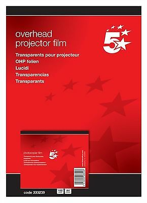10 Sheets x A4 Transparent Acetate OHP COPIER FILM Clear UNBACKED- AE333239