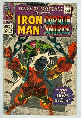 Tales of Suspense #85 January 1967 VG