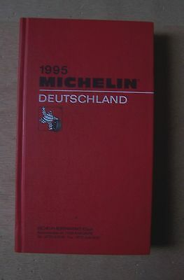 #) guide MICHELIN rouge DEUTSCHLAND 1995