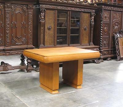 6025-3 : Oak French Art Deco Table / Desk