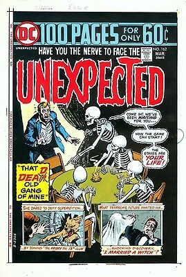 Unexpected 162 FOUR-COLOR SEPARATION 100-Pg Super-Spect POKER GAME OF DEATH Art