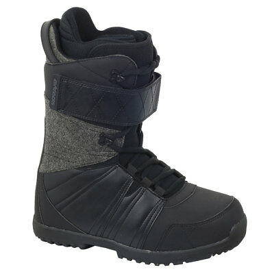 "AIRTRACKS Snowboard Boots ""Star""/Innenschuh Fastschnürung Thermofit /Black /Grey"