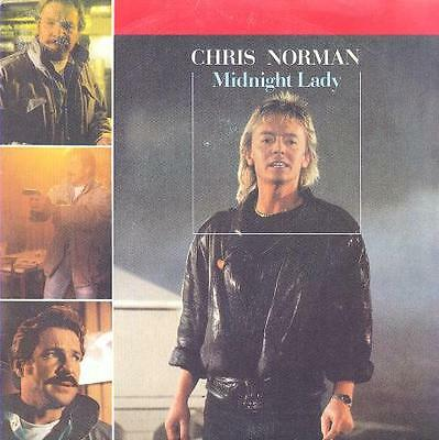 "Chris Norman From Smokie & Dieter Bohlen From Modern Talking Spanish 7"" 45 Glam"