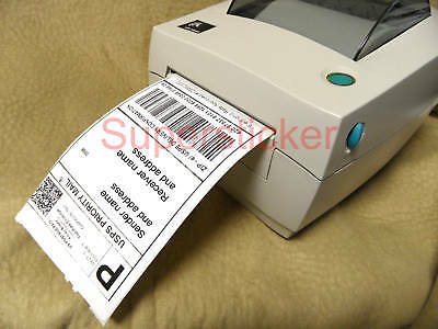 2 Rolls of Direct Thermal Shipping labels 4x6 for Zebra LP TLP 2844 3842