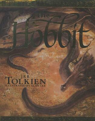 The Hobbit: Or There and Back Again by J.R.R. Tolkien (English) Hardcover Book F