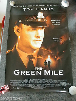 THE GREEN MILE ORIGINAL CINEMA US 1 SHEET ROLLED POSTER 1999 Tom Hanks