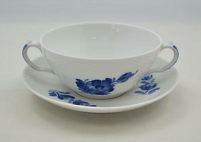 Royal Copenhagen Blaue Blume Blue flower braided - gr. Suppentasse soup-cup