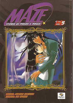 MANGA - Maze - N° 9 - Play Press - USATO