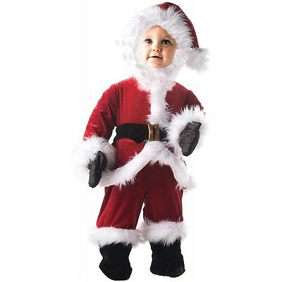 Baby Santa Outfit Infant/Toddler/Kids Christmas Costume Fancy Dress