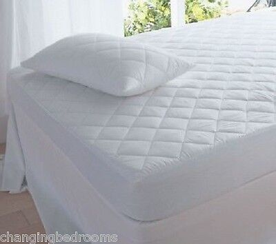 Superking Size Quilted Mattress Protector  Pillow Protectors Also Available