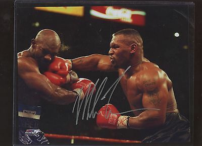 Mike Tyson Boxer Autographed 8 X 10 Photo #1 Hologram